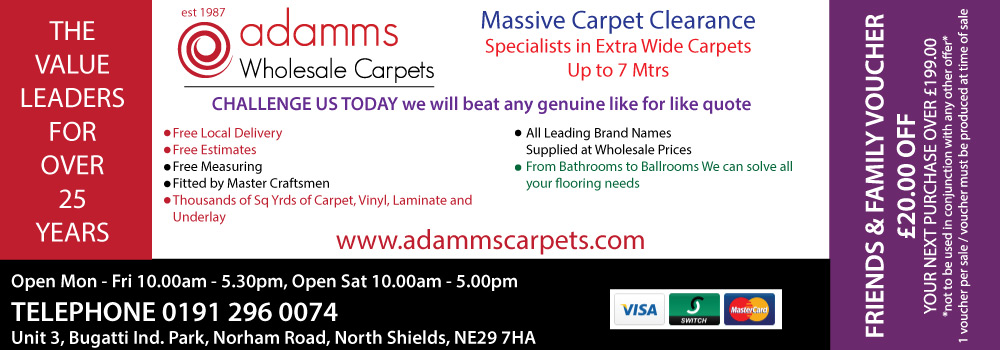 Adamms Carpets North Shields Latest Offers Download Image