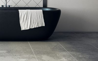 Get the Wood or Stone Flooring Look in Your Bathroom Without the Price Tag
