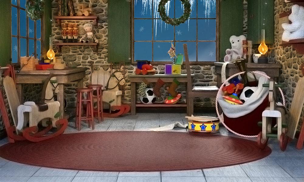 Santa's Flooring Choices at the North Pole