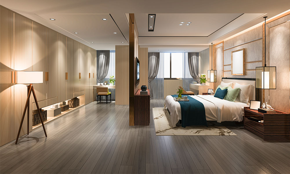 laminate flooring newcastle How to Create a Dreamy Hotel Bedroom in Your Own Home blog image