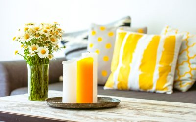 Colour Inspiration – How to decorate your home with Yellow!