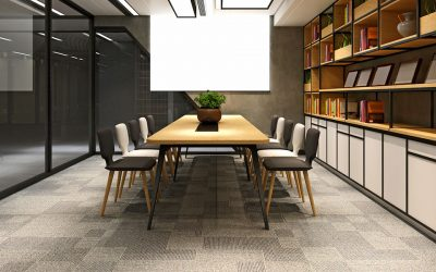 Top Tips for Looking After your Office Flooring