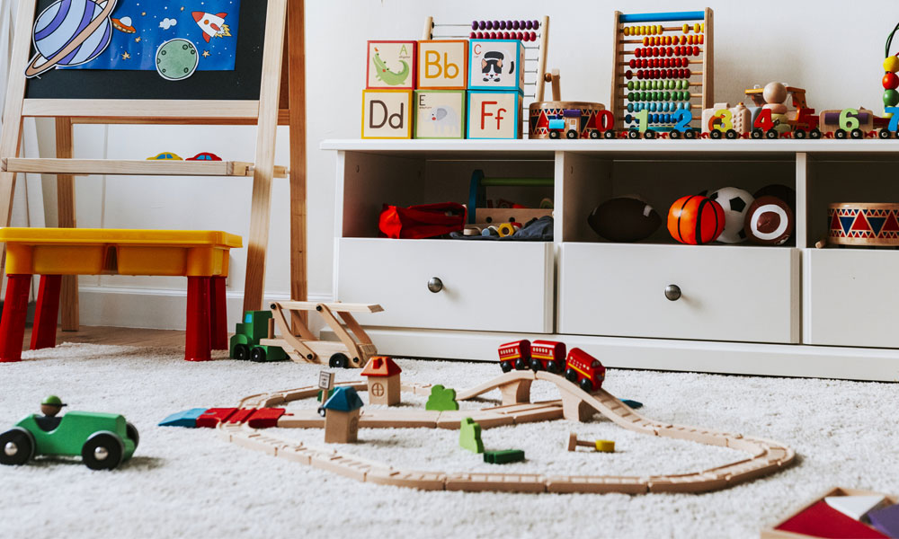 Carpets Newcastle Why Choose Carpet for your Nursery Blog Image